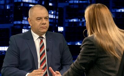 "Jacek Sasin i Joanna Kluzik-Rostkowska w ""Kropce nad i"""