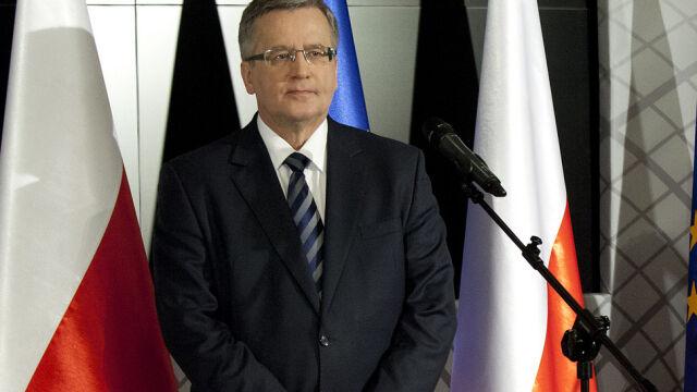 Komorowski ogłosił swój start w wyborach prezydenckich