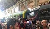 Chaos na dworcu w Budapeszcie. Pociągi odwołane