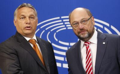 Orban i Schulz o kryzysie imigracyjnym: Był pewny już dwa lata temu