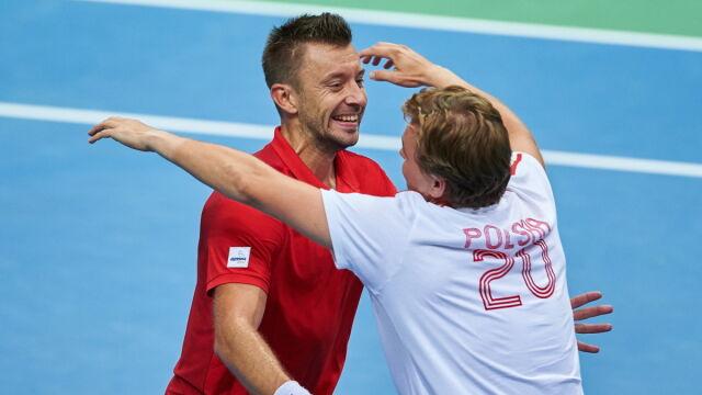 Historyczny sukces Polaków. Jesteśmy w elicie Pucharu Davisa!