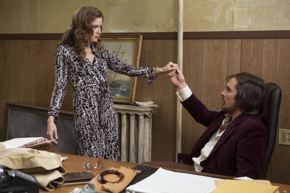 Amy Adams i Christian Bale