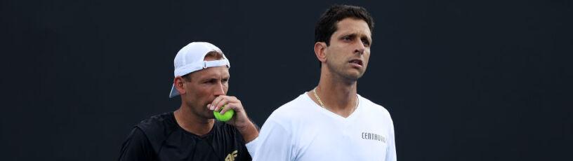 Wcześniej niż zwykle. Kubot i Melo odpadli z Australian Open