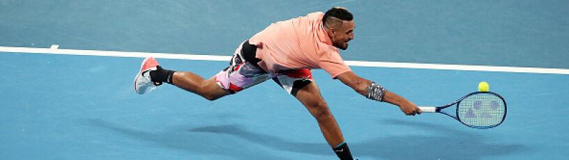 Niesamowity Kyrgios, zaskoczony Monflis. Najlepsze zagrania 6. dnia Australian Open