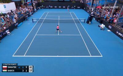 Świątek pokonała Babos w 1. rundzie Australian Open