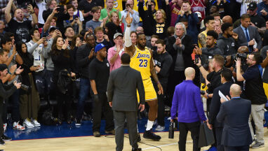 LeBron zdystansował Bryanta, a ten błyskawicznie mu pogratulował