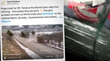 Spektakularny wypadek w Rajdzie Monte Carlo. Za kółkiem mistrz świata
