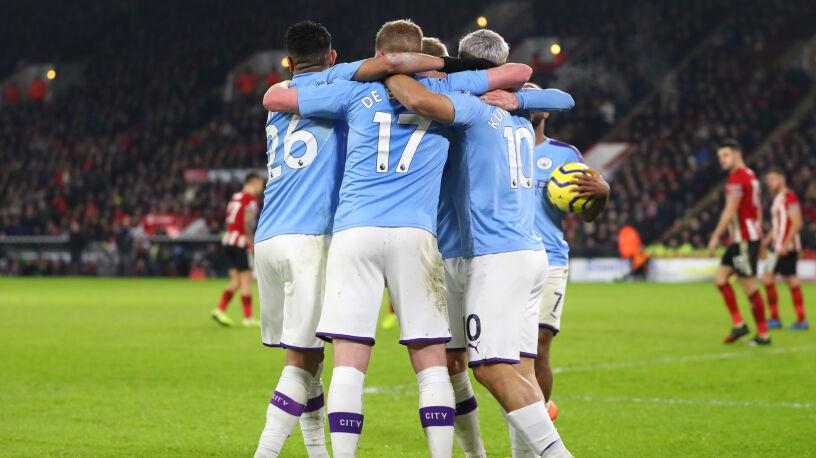 Aguero uratował City. Cuda w meczu Evertonu