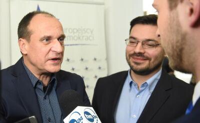 PawełKukiz i Stanisław Tyszka odczytali fragment proponowanej uchwały