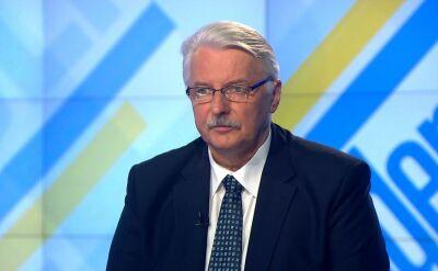 Waszczykowski: Tusk nie zaistniał jako przywódca