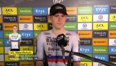 Mohorić po wygraniu 19. etapu Tour de France