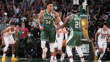 Wielka forma Greka. Bucks odrabiają straty w finale NBA