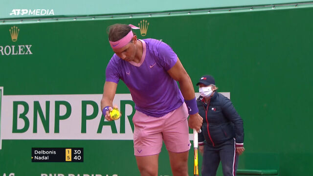 Nadal awansował do 3. rundy turnieju ATP w Monte Carlo