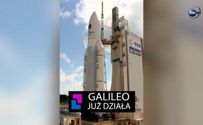 Galileo już działa