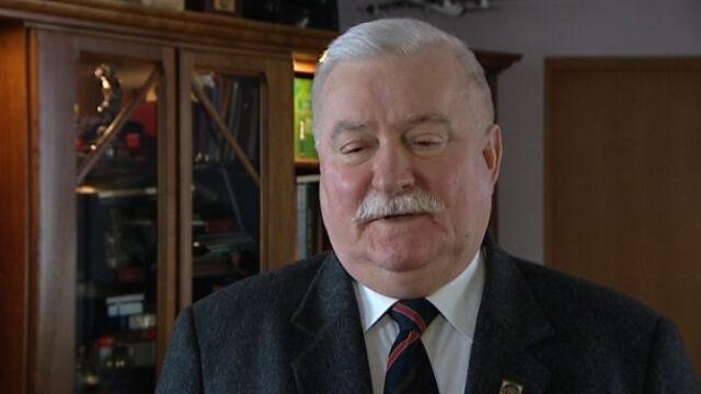Wałęsa: Nigdy nie byłem po tamtej stronie