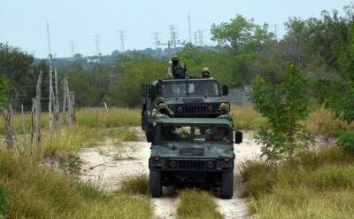Do walki z kartelami prezydent skierował żołnierzy Gwardii Narodowej