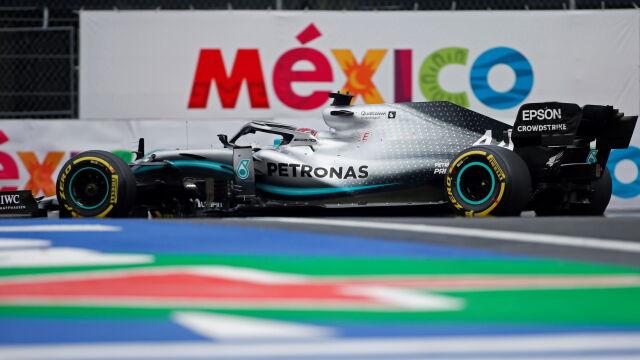 Hamilton podbił Meksyk. Świętowanie mistrzostwa musi odłożyć