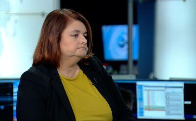 Anna Godzwon wyjaśnia procedurę związaną z rozpatrywaniem protestów wyborczych