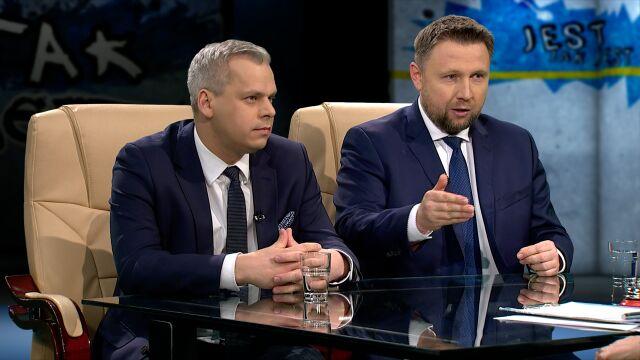 Karol Rabenda i Marcin Kierwiński w Tak Jest