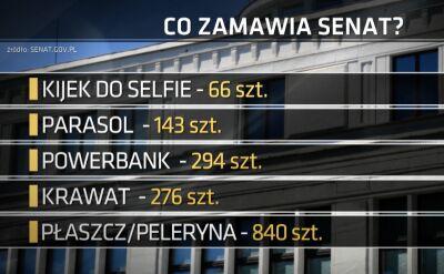 Senat będzie się promował. Wydał 330 tysięcy złotych na gadżety