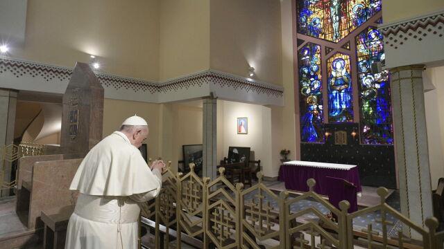 Papież: żaden naród nie może pogodnie patrzeć w przyszłość, kiedy ma u siebie ukryte trupy