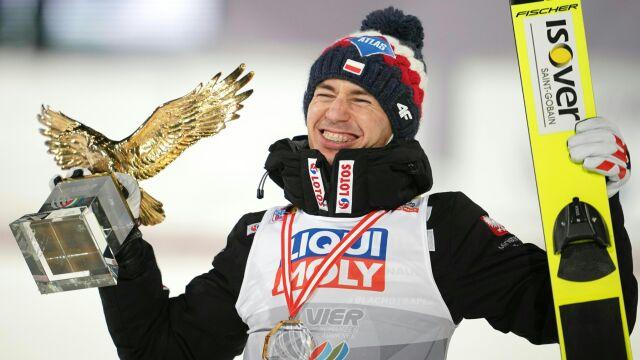 Trzeci Złoty Orzeł Stocha. Oszałamiająca lista sukcesów polskiego skoczka