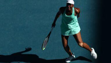 Łzy na korcie. Venus Williams przegrała z bólem