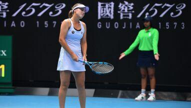 Australian Open już bez obrończyni tytułu