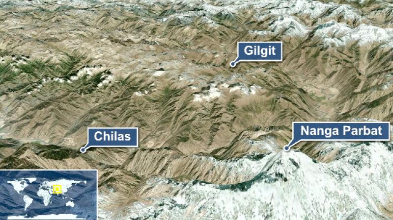Terroryści w Himalajach