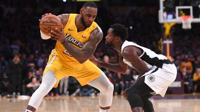 """""""LeBron to żadne wyzwanie"""". Prowokacja gracza Clippers"""
