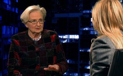 """Prof. Ewa Łętowska była gościem """"Kropki nad i"""""""