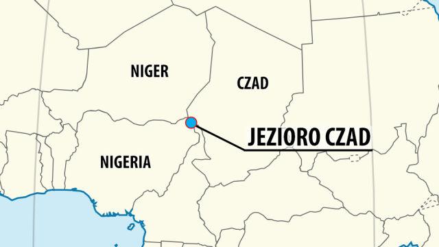 Trzy samobójcze ataki na jeziorze Czad, wielu zabitych