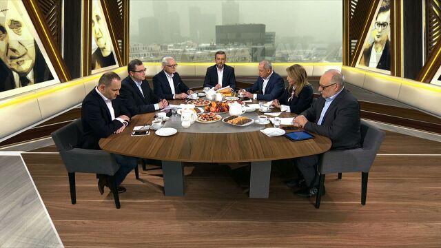 Dyskusja po spotkaniu premiera z szefami klubów parlamentarnych