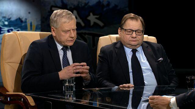 """A. Bobko i R. Kalisz w """"Tak Jest"""""""
