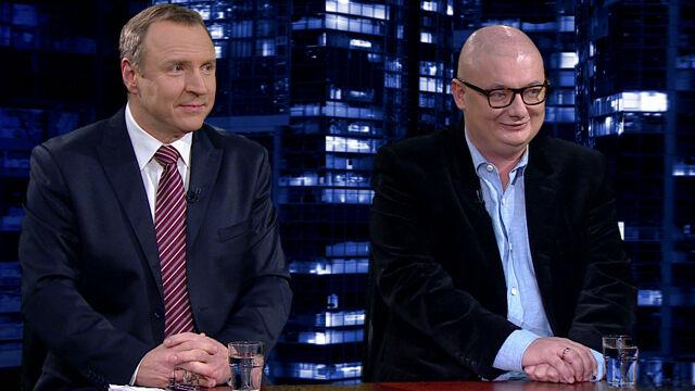 """Jacek Kurski i Michał Kamiński w """"Kropce nad i"""""""