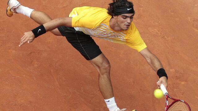 Okradziony tenisista dotarł do półfinału z dwiema rakietami. Teraz chce namierzyć złodzieja
