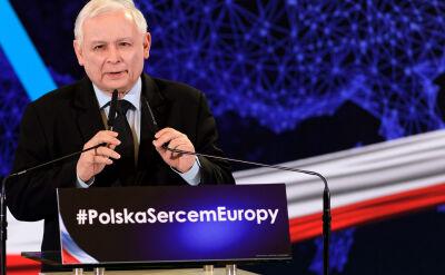 Kaczyński: takie same proszki jak w Niemczech są w Polsce, tylko gorzej piorą