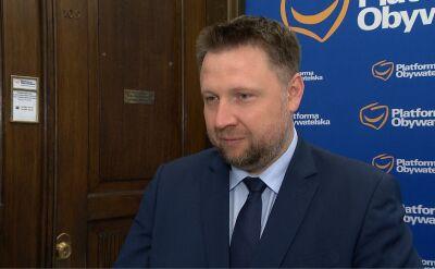 Kierwiński: nie widzę nic nadzwyczajnego w decyzji Rostowskiego
