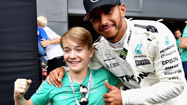 Na torze stracił obie nogi, ale nie marzenia. Nastolatek bliżej Formuły 1