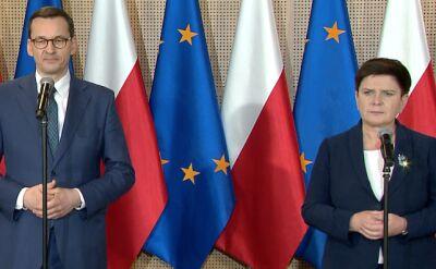 Morawiecki: wyłania się koncepcja, żeby powołać jeszcze jeden podstolik