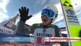 Skok Andrzeja Stękały z 1. serii konkursu w Garmisch-Partenkirchen