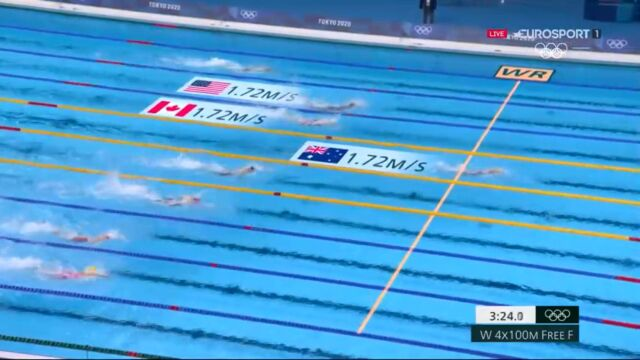 Złoto i walka do końca Australijek o rekord świata