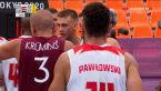 Tokio. Polacy przegrali z Łotwą w meczu koszykówki 3x3