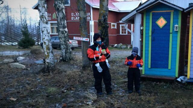 W Laponii błoto zamiast śniegu