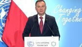 Prezydent otworzył szczyt klimatyczny