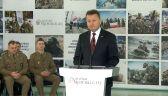 Mariusz Błaszczak podsumowuje 3 lata rządów PiS w resorcie obrony