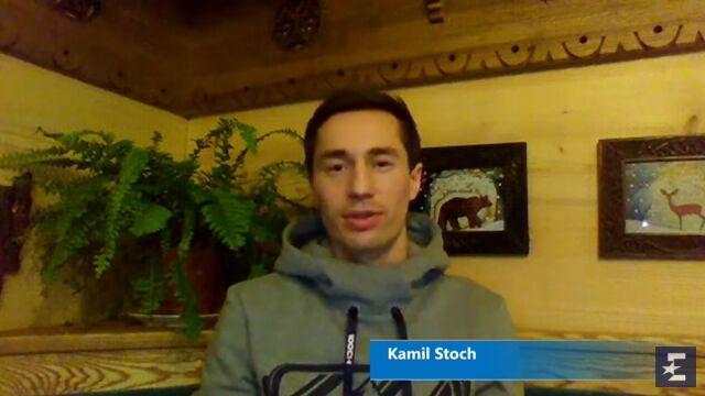 """Kamil Stoch w """"Oknie na sport"""". """"Talerz za Raw Air jeszcze nie dotarł"""""""