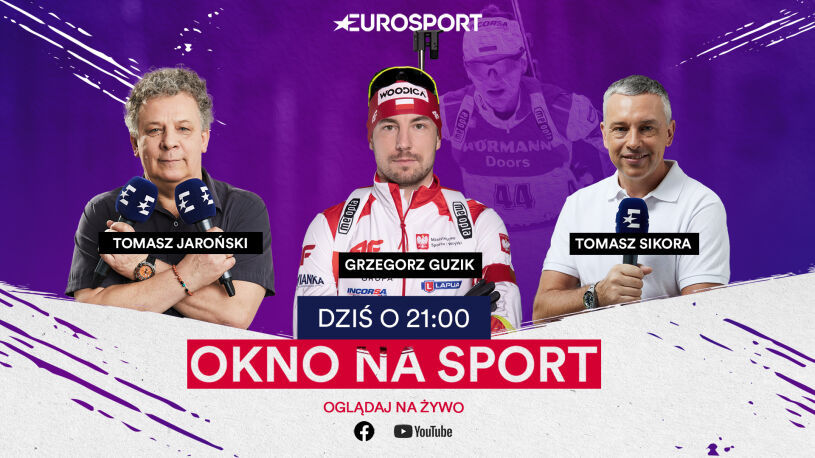 """Grzegorz Guzik gościem """"Okna na sport"""" [NA ŻYWO]"""