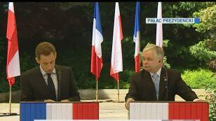 Sarkozy o otwarciu rynku pracy (TVN24)
