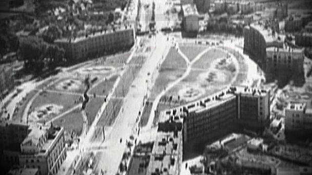 Warszawa widziana z okna samolotu Luftwaffe